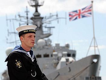 Redundant Royal Navy Sailor, HMS Cumberland