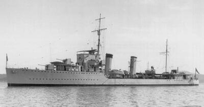 HMS Kieth